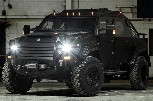 Terradyne Gurkha – xe chống đạn cho dân thường