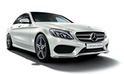 Mercedes C200 Sport Edition với giá 45.000 USD tại Nhật Bản