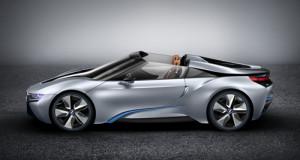 BMW ra mắt i8 Spyder concept mới