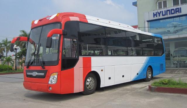 Xe open bus, open tour Huế đi Đông Hà, xe giường nằm chất lượng cao