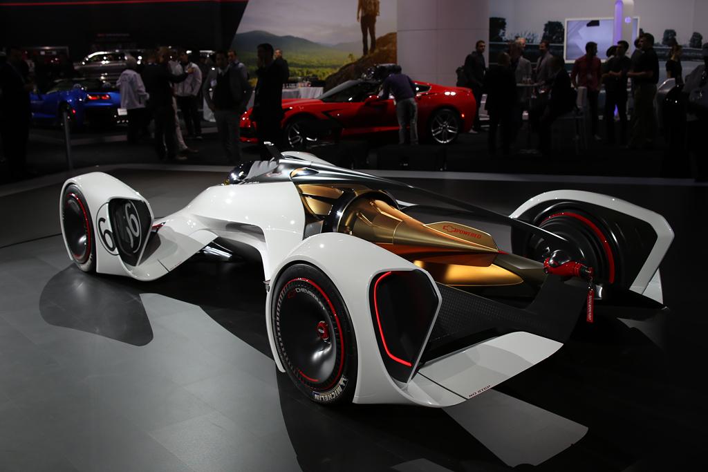 Siêu xe chạy bằng tia laser