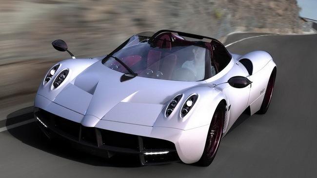 Siêu xe Pagani Huayra độc nhất vô nhị