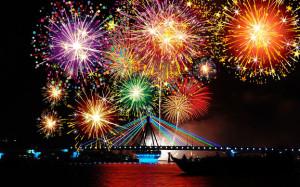 Lễ hội bắn pháo hoa quốc tế ở Đà Nẵng 2015