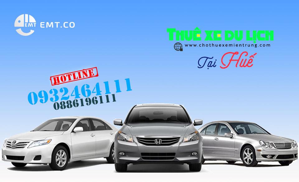 Bảng báo giá thuê xe du lịch Huế cập nhật (2015)