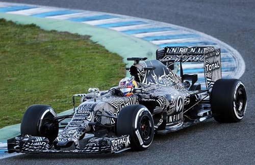 Xe đua Red Bull mùa giải 2015