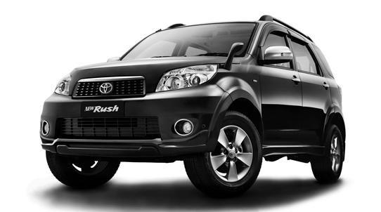 Toyota Rush Phiên bản 2015