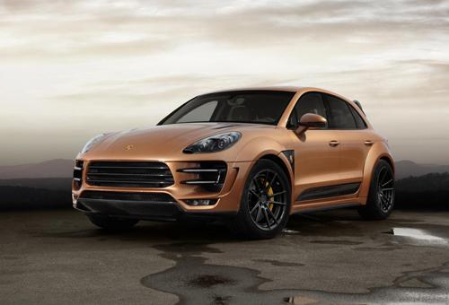 Porsche Macan URSA Aurum – quý tộc 'vàng'
