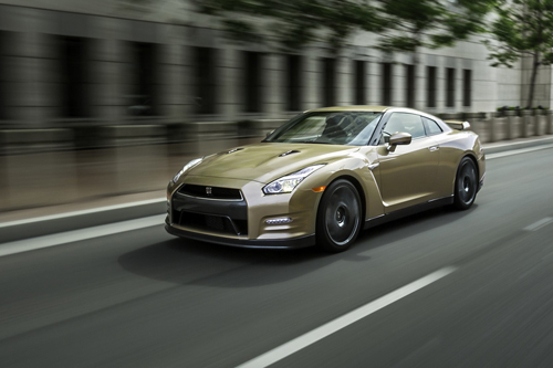 Nissan GT-R 2016 Gold Edition – bản mừng sinh nhật