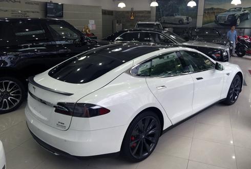 Ôtô điện hạng sang Tesla S đã có mặt tại Việt Nam
