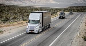 Xe tải tự lái đầu tiên được phép tham gia giao thông