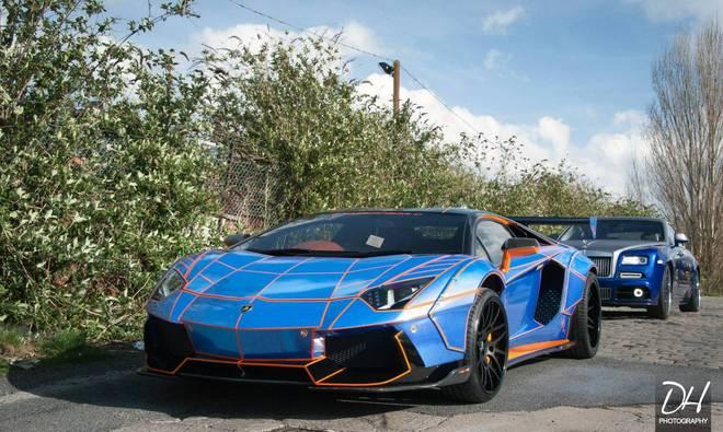 Tron Lamborghini Aventador – phong cách siêu tưởng