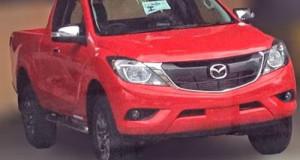 Mazda BT-50 bản nâng cấp lộ diện