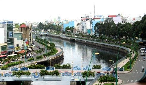 Đề xuất nên lập bến tàu du lịch trên kênh Nhiêu Lộc