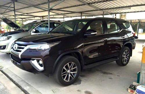 Toyota Fortuner 2016 – lột xác thiết kế