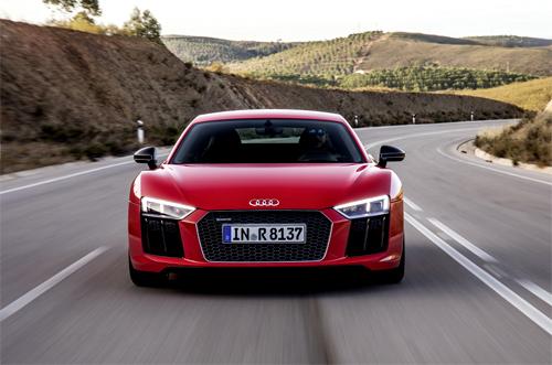 R8 V10 Plus – siêu xe Audi mạnh nhất