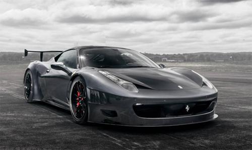 Ferrari 458 độ hầm hố