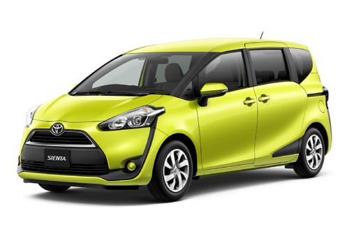 Toyota Sienta – minivan kiểu mới cho người Nhật