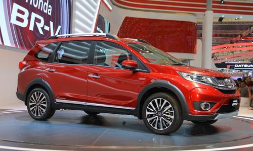 Honda BR-V – crossover mới 7 chỗ giá 16.600 USD
