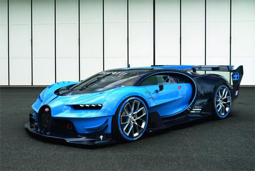 Bugatti Gran Turismo – siêu xe bước ra từ game tốc độ