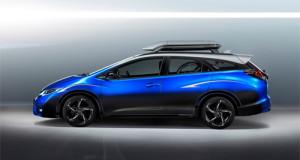 Honda Civic concept – xế hộp cho người mê xe đạp