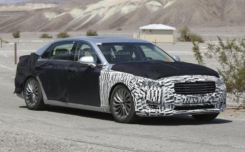 """Hyundai Equus 2017 – là đối thủ """"tự nhận"""" của S-class lộ diện"""