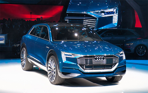 Audi Q6 E-Tron – đối thủ mới của hãng Tesla Model X