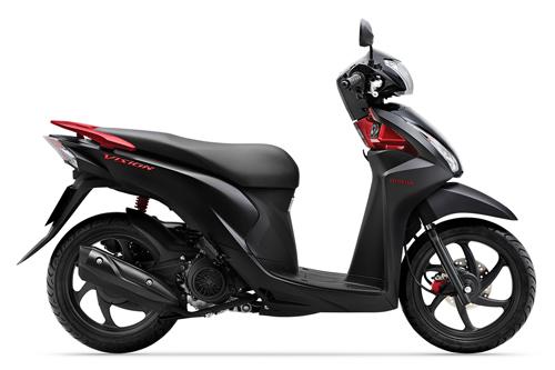 Honda Vision mới vừa ra mắt đã chênh 3 triệu đồng