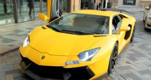 Lamborghini Aventador bốc cháy vì trò nẹt pô