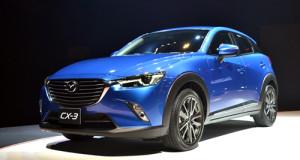 Mazda CX-3 thế hệ mới giá từ 23.300 USD tại Thái Lan