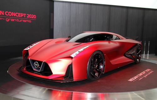 Nissan Vision Gran Turismo – xe thể thao mơ ước