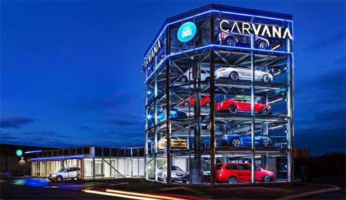 Máy bán ôtô tự động 5 tầng