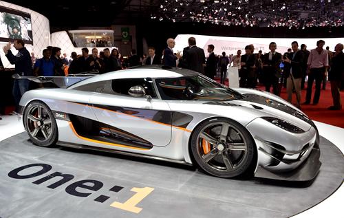 Siêu phẩm Koenigsegg One:1 đặc biệt giá 6 triệu USD