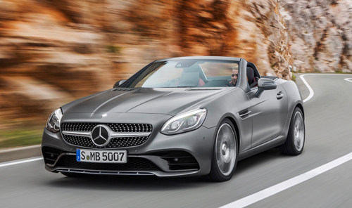 Mercedes SLC 2017 – chiếc C-class thể thao