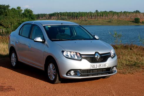 Renault Logan – khác lạ kiểu Âu giữa Việt Nam