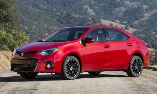 Toyota Corolla 2015 đáng tin cậy nhất năm 2015 tại Mỹ