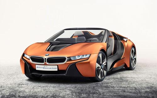 BMW i8 Spyder concept – siêu xe công nghệ cao