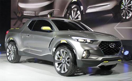 Hyundai Santa Cruz – bán tải mới từ Hàn Quốc