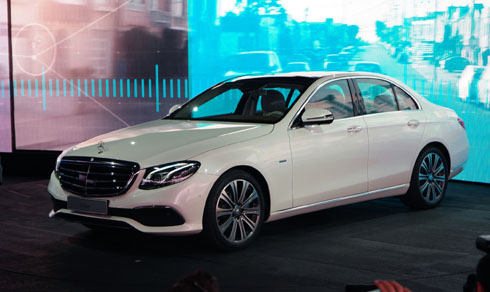 Mercedes E-class thế hệ mới trình làng