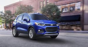 Chevrolet Trax 2017 – đổi diện mạo thêm công nghệ