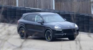Porsche Cayenne 2018 lộ diện lần đầu