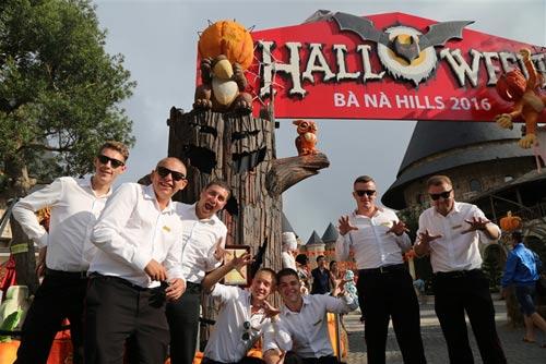 Lễ hội Halloween 2016 ở Bana hills