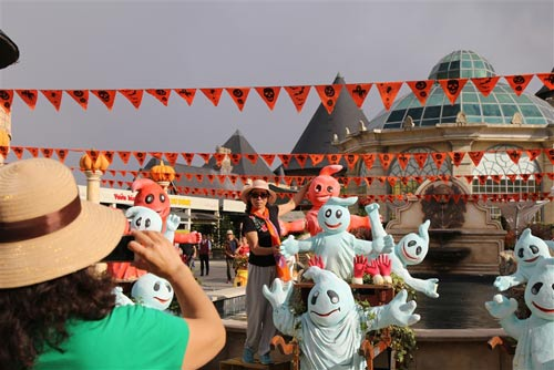Lễ hội Halloween 2016 tại Bà Nà Hills
