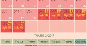 Chốt phương án nghỉ tết âm lịch 7 ngày