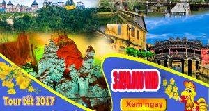 Tour tết 2017 Đà Nẵng – Huế – Phong Nha – Hội An – Bà Nà 4 ngày 3 đêm