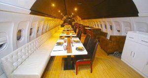 Bên trong các nhà hàng làm từ máy bay