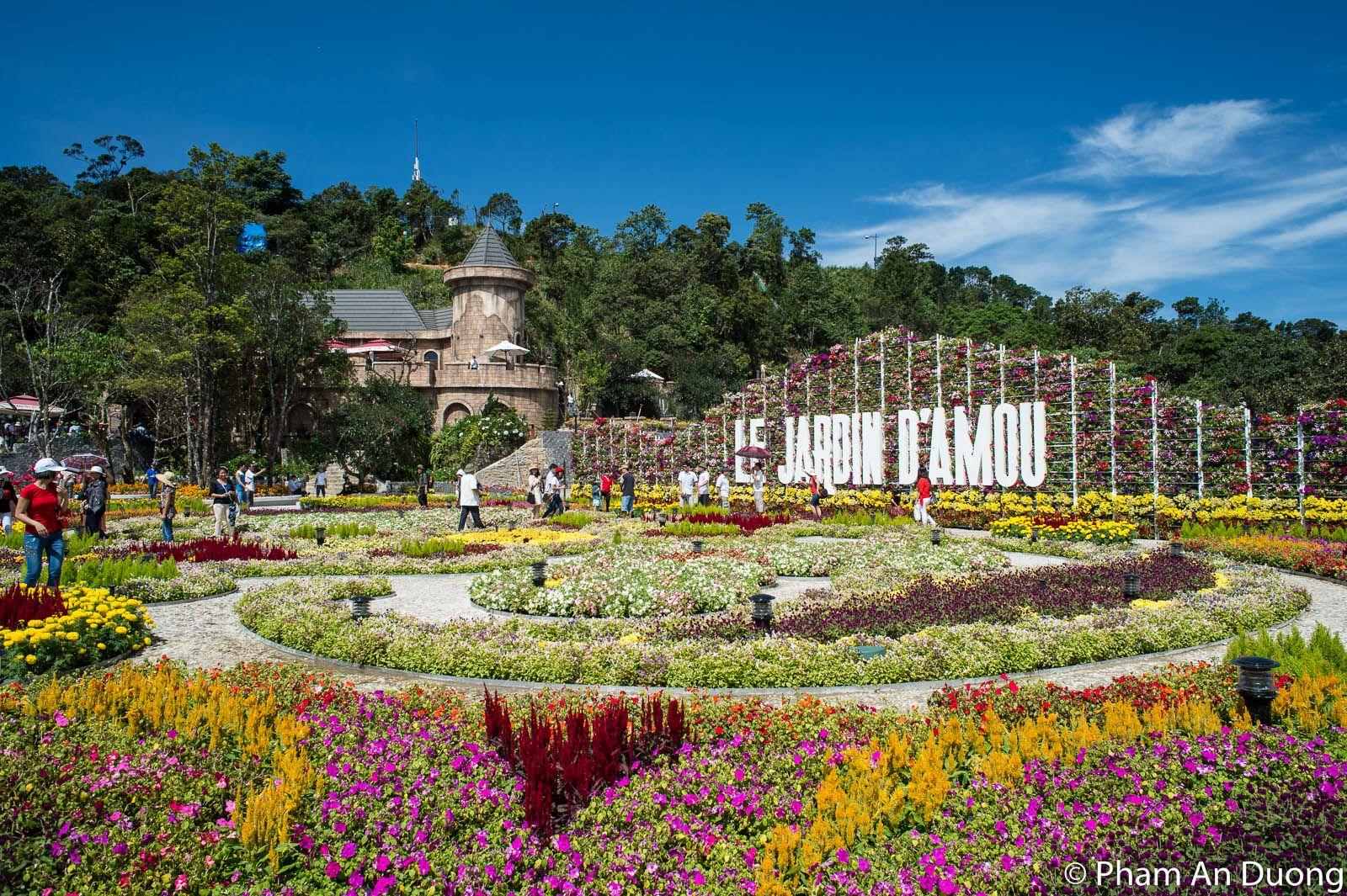 Le-Jardin-Damou Du lịch Bà Nà Hills Du lich Ba na