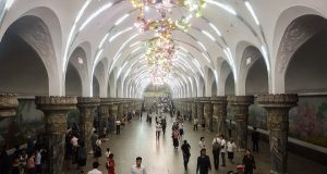 Hệ thống tàu điện ngầm đáng kinh ngạc của người Triều Tiên