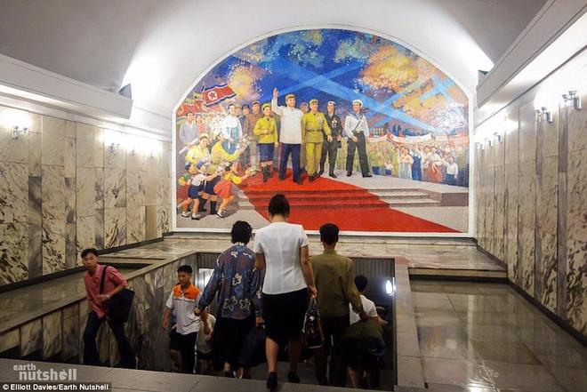 tàu điện ngầm Triều Tiên