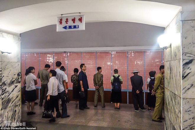 tàu điện ngầm - Triều Tiên