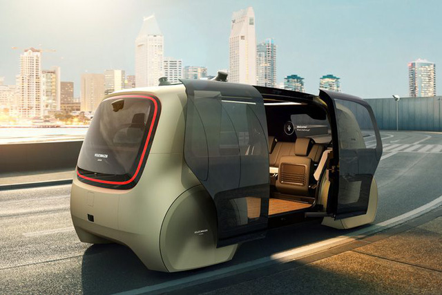 Volkswagen Sedric xe tự lái